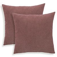 Tyler 2 pc Textured Woven Throw Pillow Set