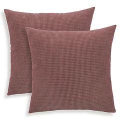 Tyler 2 pc Textured Woven Throw Pillow Set