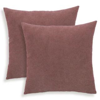 Tyler 2-piece Textured Woven Throw Pillow Set