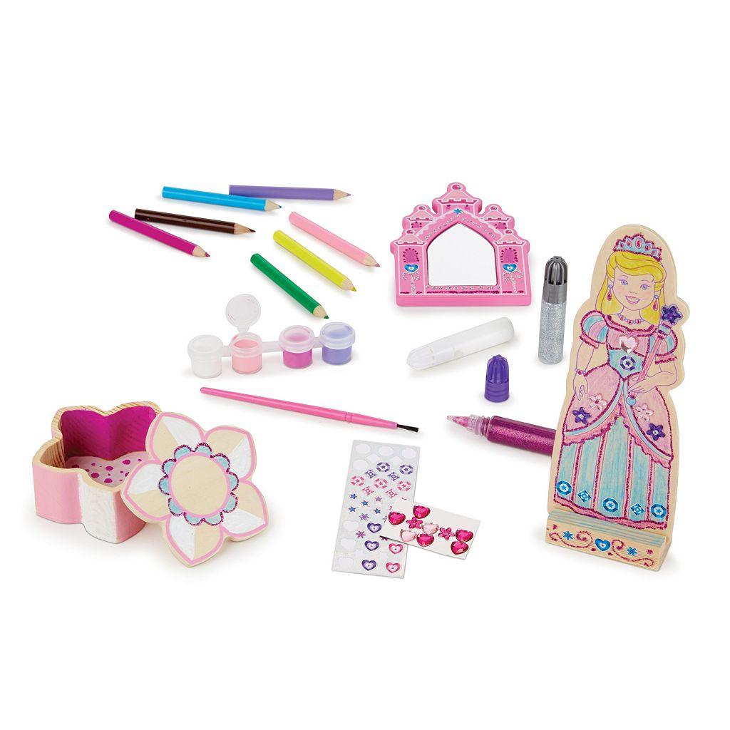 Melissa & Doug Decorate-Your-Own Princess Craft Set