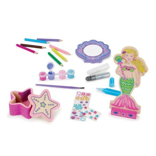 Melissa & Doug Decorate-Your-Own Mermaid Craft Set