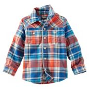 Boys 4-7 OshKosh B'gosh® Plaid Button-Down Shirt