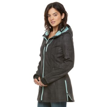 Women's Halifax Hooded Printed Soft Shell Jacket