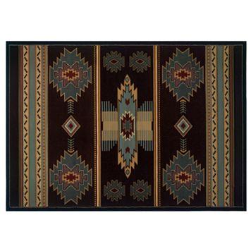 United Weavers Designer Contours Native Southwest Rug