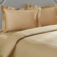 Grand Collection 300-Thread Count Wrinkle-Resistant Braided Duvet Cover Set
