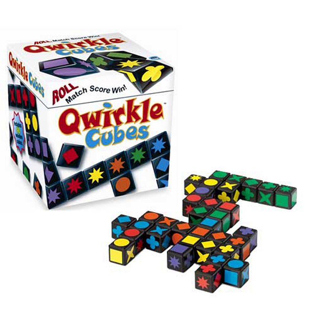 Qwirkle Cubes Game by MindWare