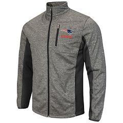 Mens New England Patriots Pro Line Navy Soft Shell Jacket
