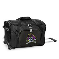 Denco East Carolina Pirates 22-Inch Wheeled Duffel Bag