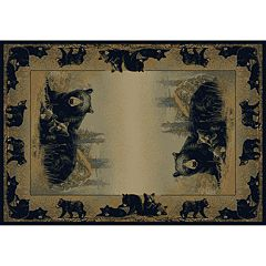 United Weavers Hautman 'Time to Play' Bear Rug