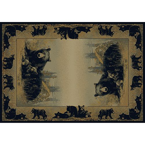 "United Weavers Hautman ""Time to Play"" Bear Rug"