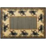 United Weavers Hautman Northwood Moose Rug