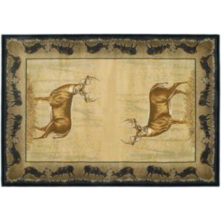 United Weavers Buckwear Believe Deer Rug