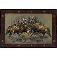 United Weavers Buckwear Fight for Dominance Rug