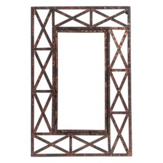Welded Metal Wall Mirror