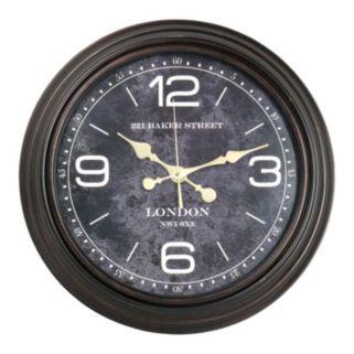 221 Baker Street Classic Wall Clock