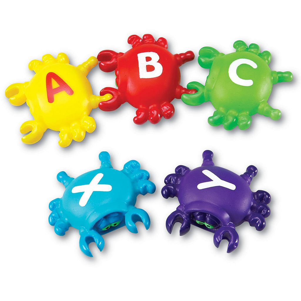 Learning Resources Smart Splash Letter Link Crabs