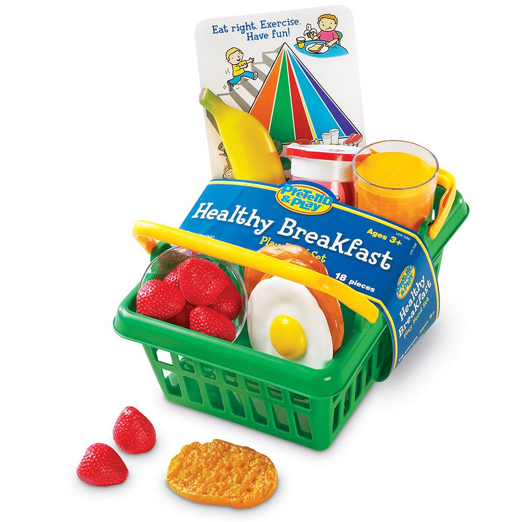 Learning Resources Pretend & Play Healthy Breakfast Set