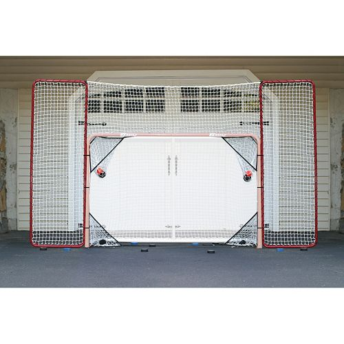 ez goal hockey backstop instructions