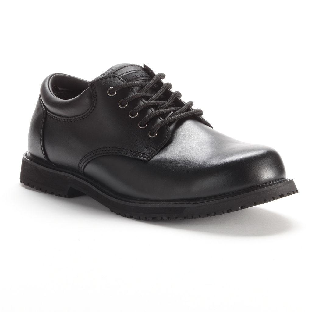 Grabbers Women's Slip-Resistant Oxford Work Shoes