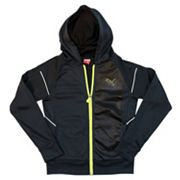 Boys 4-7 PUMA French Terry Tech Full-Zip Hoodie