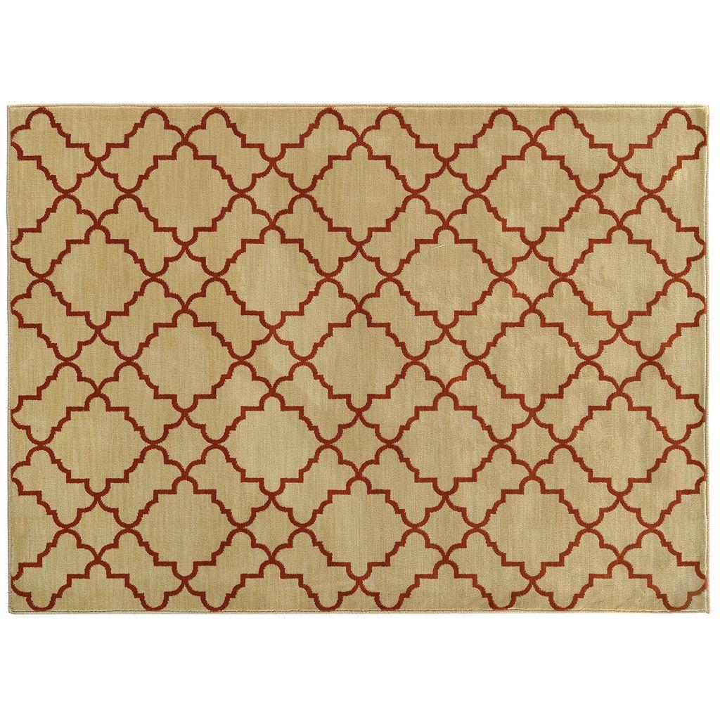 Oriental Weavers Casablanca Geometric Lattice Rug