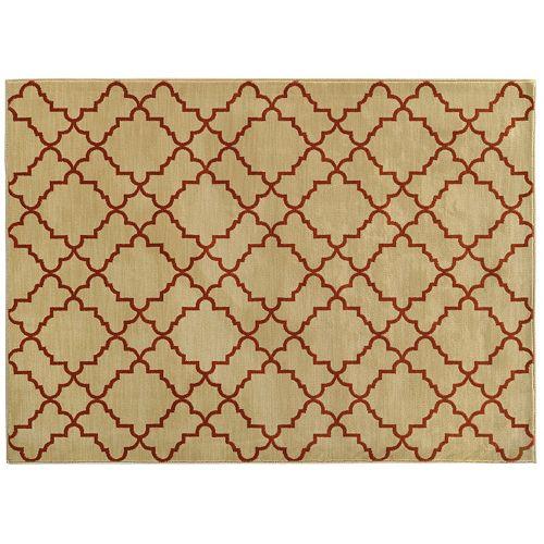 StyleHaven Cadence Geometric Lattice Rug