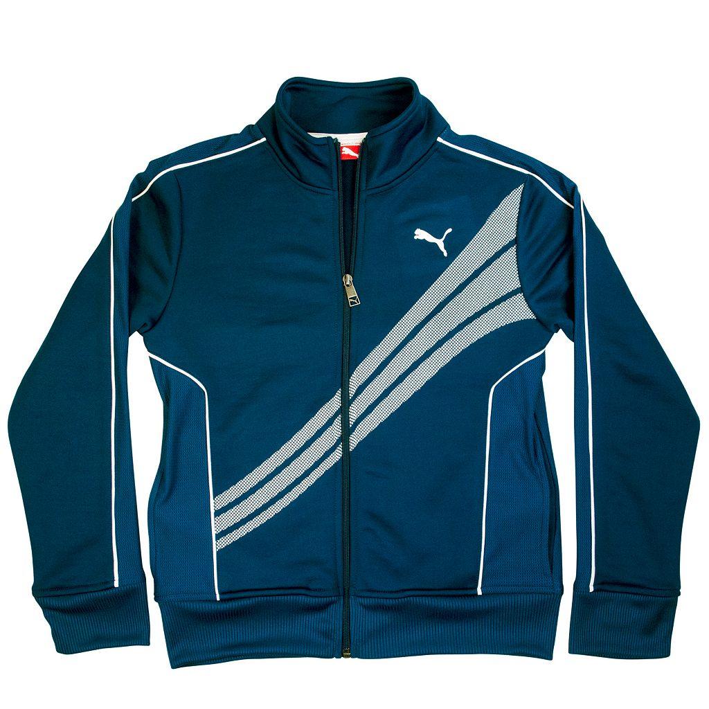 Boys 4-7 PUMA French Terry Track Jacket