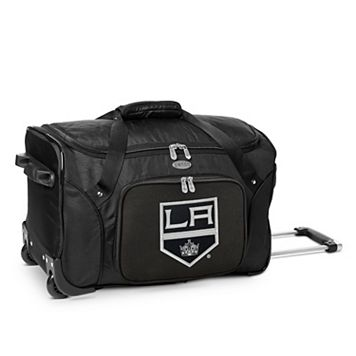 Denco Los Angeles Kings 22-Inch Wheeled Duffel Bag