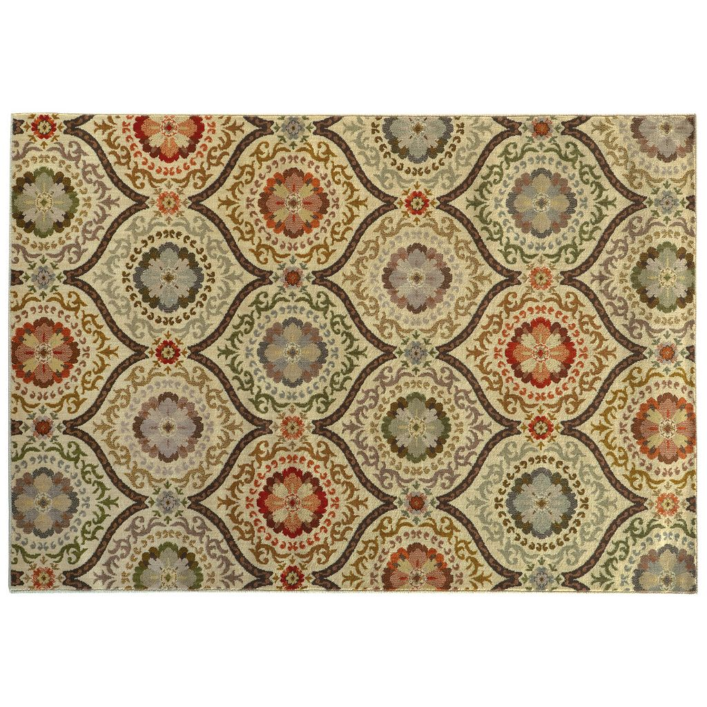 Oriental Weavers Casablanca Panel Lattice Rug
