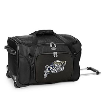 Denco Navy Midshipmen 22-Inch Wheeled Duffel Bag