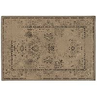 Oriental Weavers Chloe Faded Damask Rose Rug