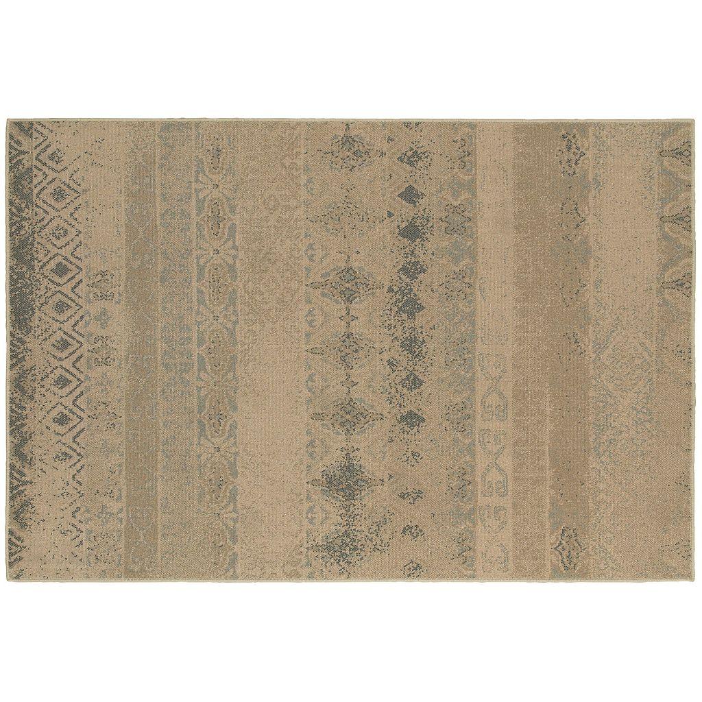 Oriental Weavers Chloe Distressed Stripe Rug