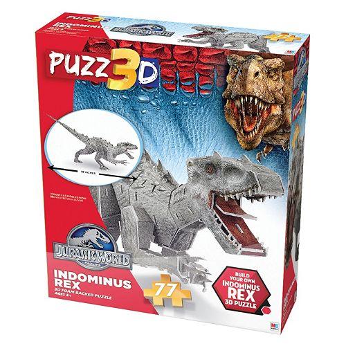 Puzz3D Jurassic World Indominus Rex 77-Piece Puzzle