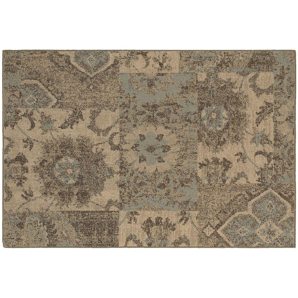 Oriental Weavers Chloe Distressed Patchwork Rug