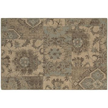 Oriental Weavers Chloe Distressed Patchwork Rug