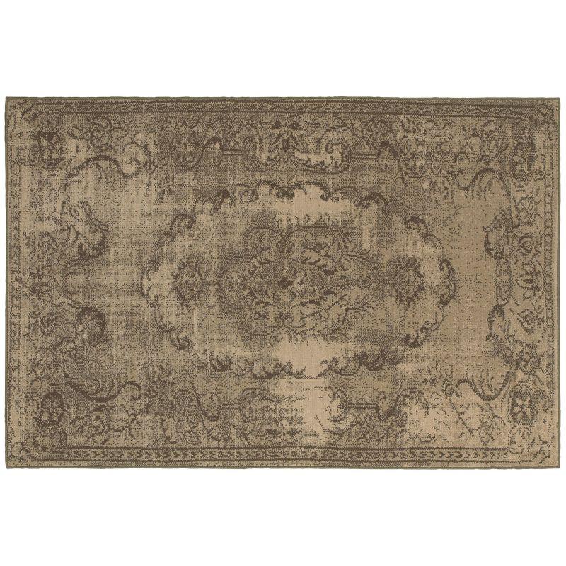 Oriental Weavers Chloe Shabby Chic Ornate Rug (Brown)