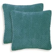 Beacon 2 pc Ribbed Plush Throw Pillow Set