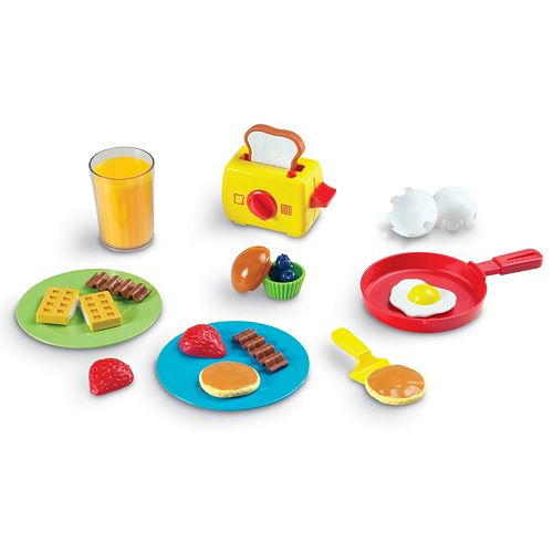 Learning Resources Play & Pretend Rise & Shine Breakfast Set