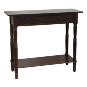 Decor Therapy 2-Drawer Console Table