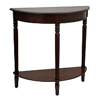 Decor Therapy Round Console Table