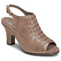 A2 by Aerosoles Gingersnap Women's Slingback Peep-Toe Heels