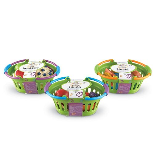 Learning Resources New Sprouts Healthy Basket Set