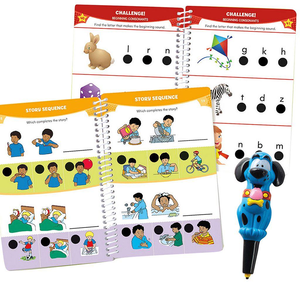 Educational Insights Hot Dots Jr. Let's Master Pre-K Reading Book Set