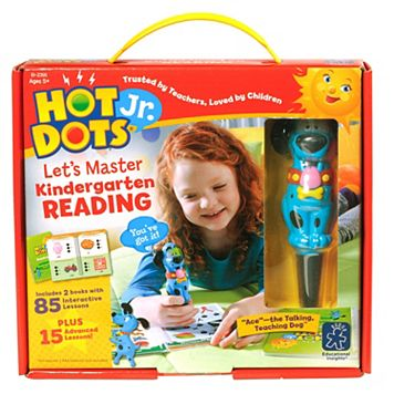 Educational Insights Hot Dots Jr. Let's Master Kindergarten Reading Book Set