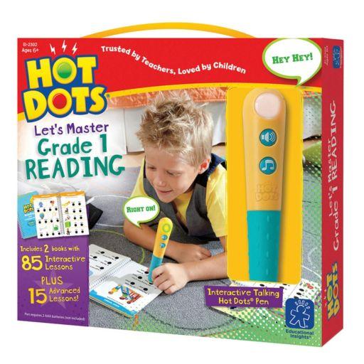 Educational Insights Hot Dots Jr. Let's Master Grade 1 Reading Book Set