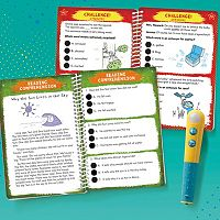 Educational Insights Hot Dots Jr. Let's Master Grade 2 Reading Book Set