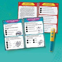 Educational Insights Hot Dots Jr. Let's Master Grade 3 Reading Book Set