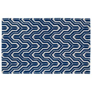 Kaleen Revolution Chevron Wool Rug - 8' x 11'