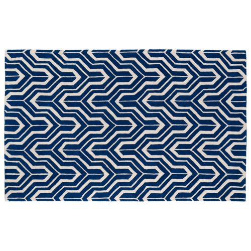 Kaleen Revolution Chevron Wool Rug – 8′ x 11′