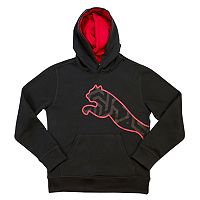 Boys 4-7 PUMA Black Pullover Hoodie